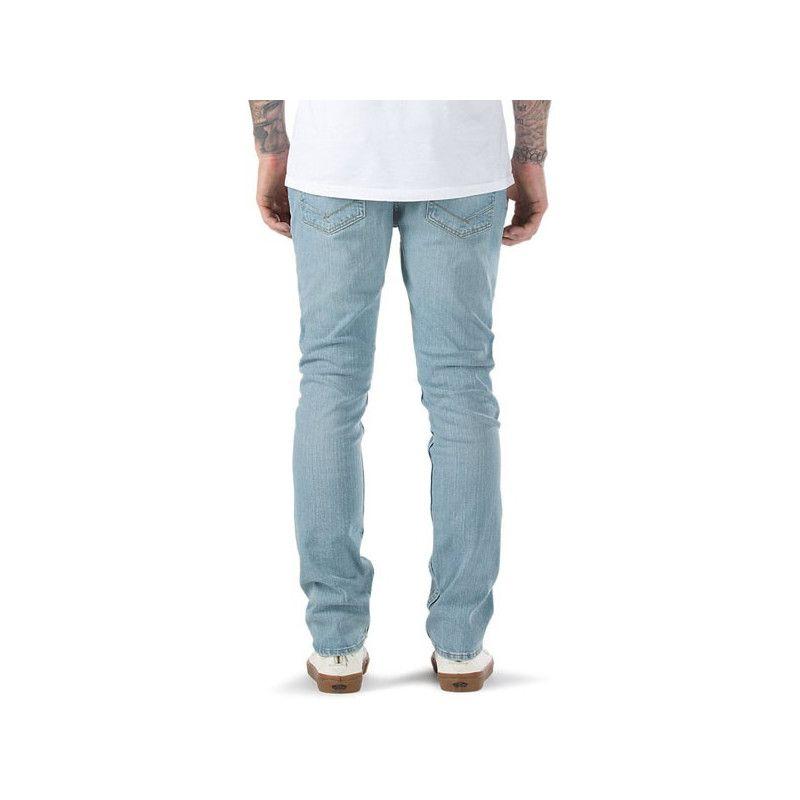 Pantalon Outlet Vans V76 Skinny Bleached Indigo