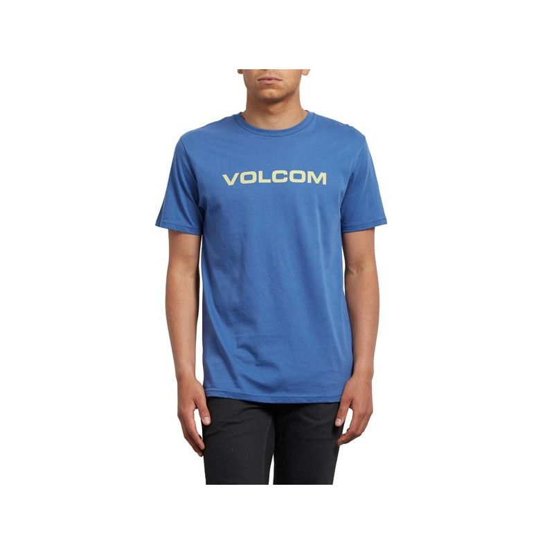Camiseta Volcom: CRISP EURO BSC SS (BLUE DRIFT)