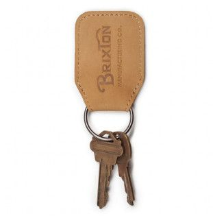 Llavero Brixton: TRIBUTE KEY CHAIN (NATURAL)