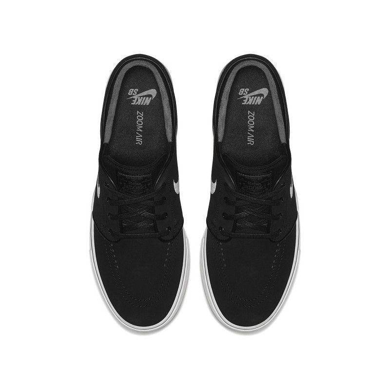 Zapatillas Nike: Zoom Stefan Janoski (BLK WHT GR GM LT BW)