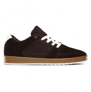 Zapatillas Es: ACCEL SLIM (BLACK GUM WHITE)