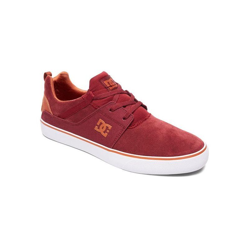 Zapatillas DC Shoes: HEATHROW VULC (BURGUNDY)