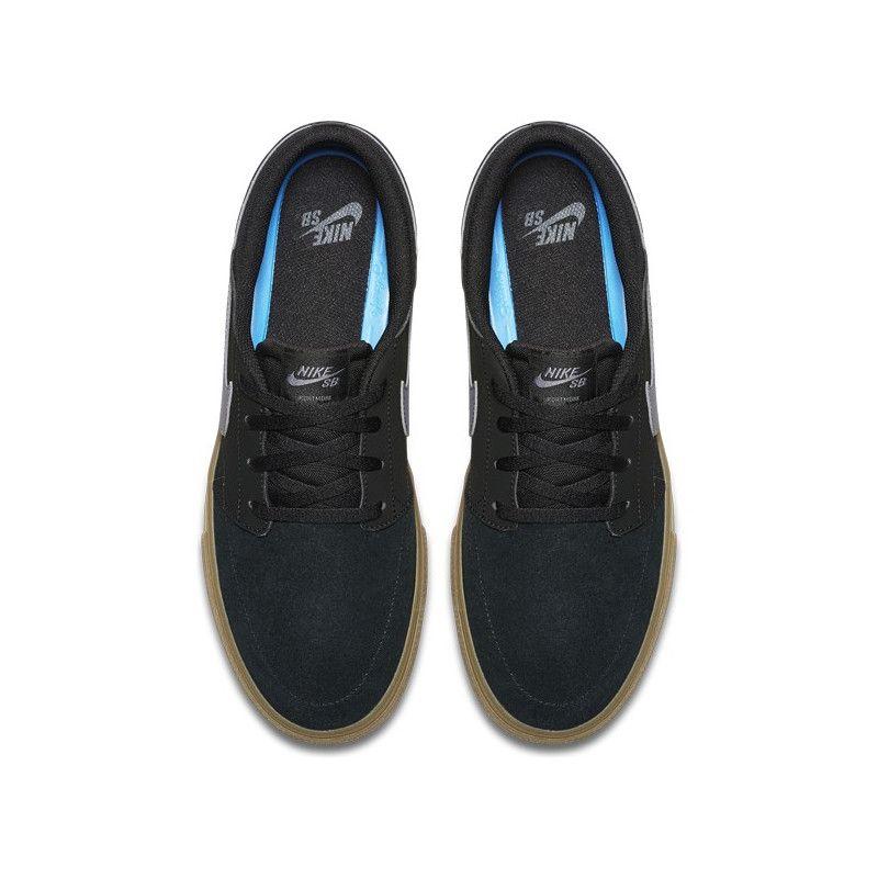 Zapatillas Nike: Solarsoft Portmore II (BLK DK GR GM LT BR)