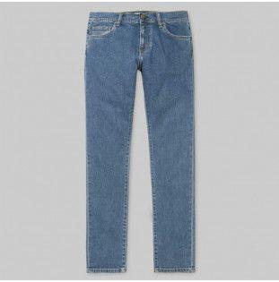 Pantalón Carhartt: Rebel Pant (Blue dark stone washed)