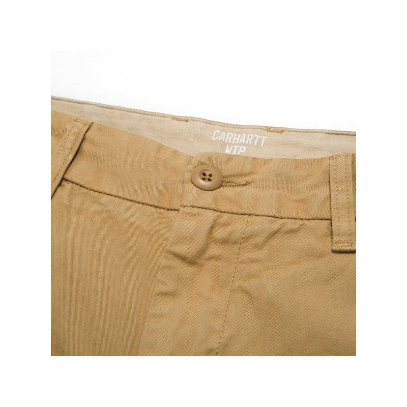 Pantalón Carhartt: Johnson Pant (Leather)