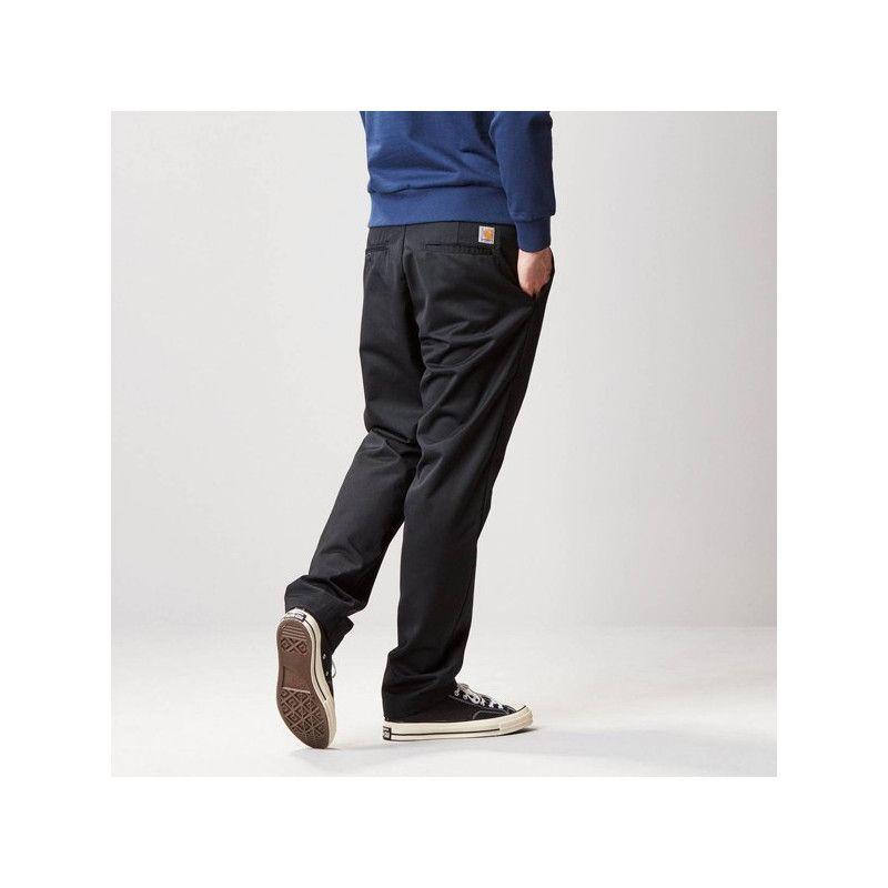 Pantalón Carhartt: Master Pant (Black rinsed)