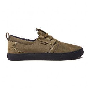 Zapatillas Supra: FLOW (Olive Black)