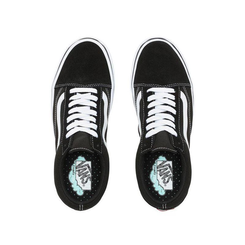 Zapatillas Vans: ComfyCush Old Skool CLASSIC (BLK TRUE WHT)