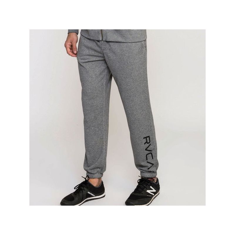 Pantalón RVCA: CAGE SWEATPANT (HEATHER GREY)