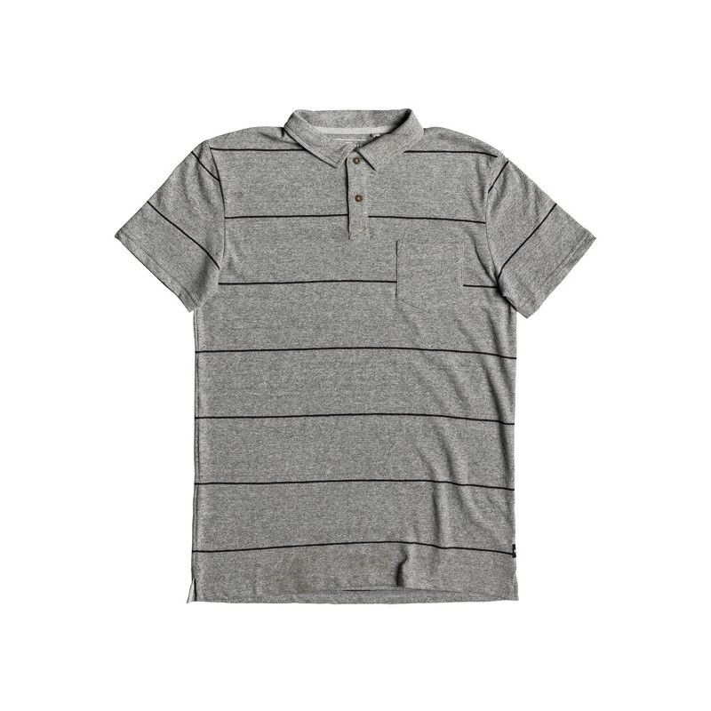 Polo Quiksilver: IRON IN THE SOUL (MEDIUM GREY HTH)