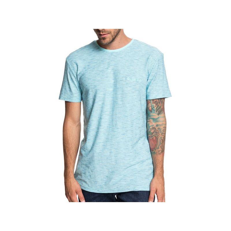 Camiseta Quiksilver: KENTIN (AQUA SPLASH)