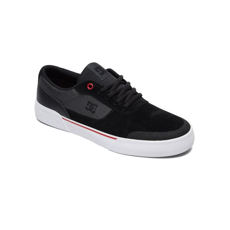 Zapatillas DC Shoes: SWITCH PLUS S (BLACK ATHLETIC RED WHITE)