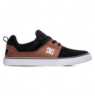 Zapatillas DC Shoes: HEATHROW VULC (BLACK BROWN BLACK)