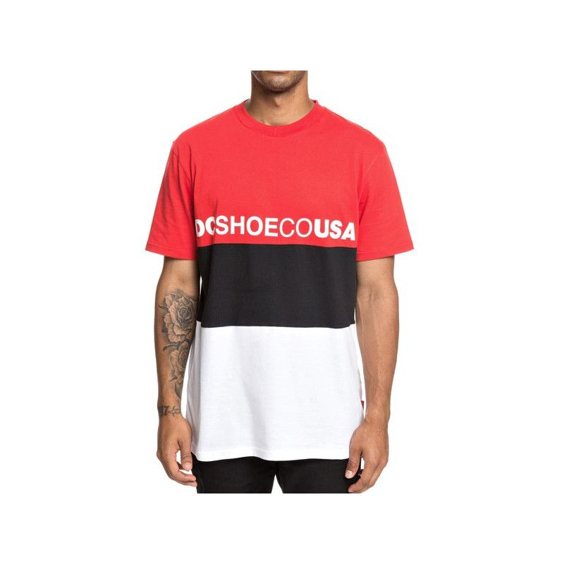 Camiseta DC Shoes: GLEN FERRIE SS (RACING RED)