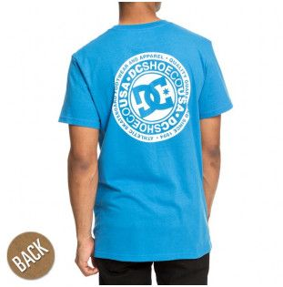 Camiseta DC Shoes: CIRCLE STAR SS (BRILLIANT BLUE)
