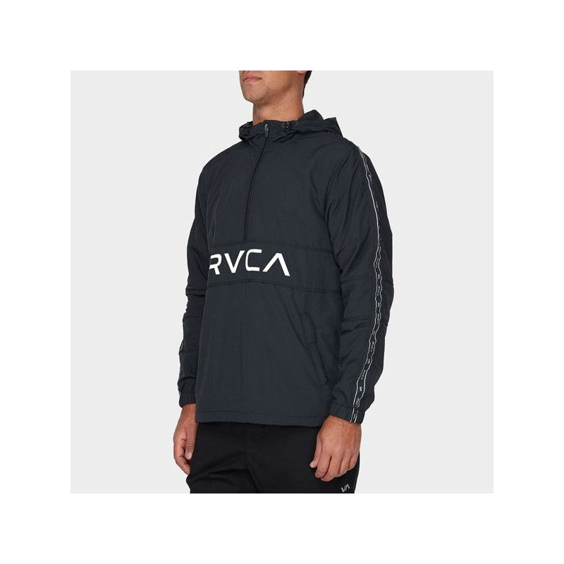Chaqueta RVCA: ADAPTER ANORAK (BLACK)