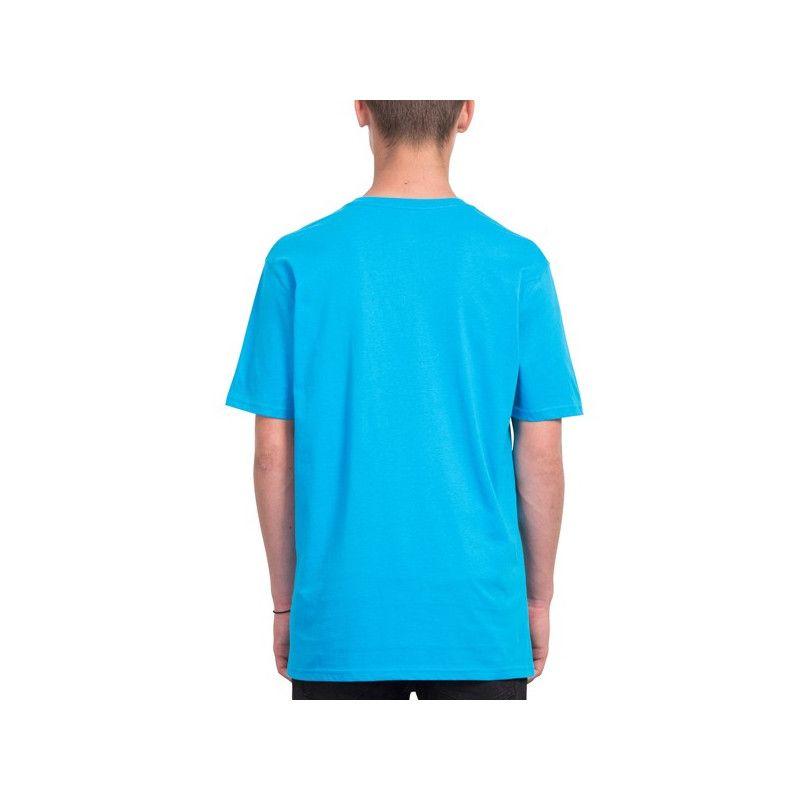 Camiseta Volcom: CRISP STONE BSC SS (CYAN BLUE)