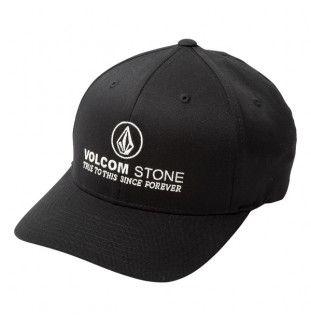 Gorra Volcom: SUPER CLEAN XFIT (BLACK)