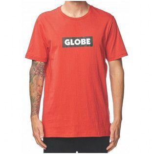 Camiseta Globe: Box Tee (Fire)