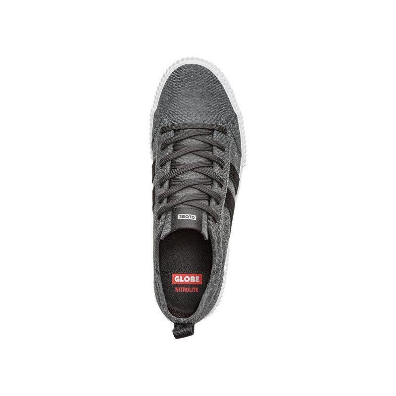 Zapatillas Globe: Filmore (Black Chambray)