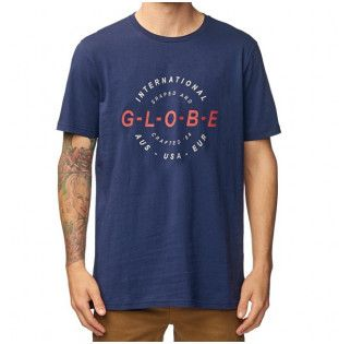 Camiseta Globe: Icon Tee (Sea Blue)
