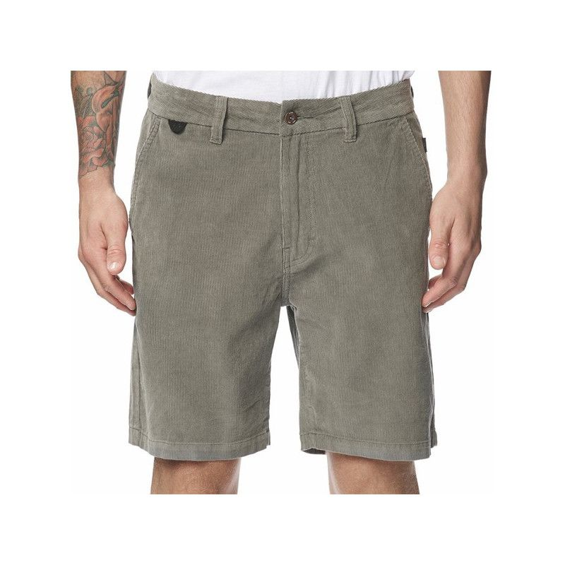 Bermuda Globe: Dion Agius Workwear Short (Cement)
