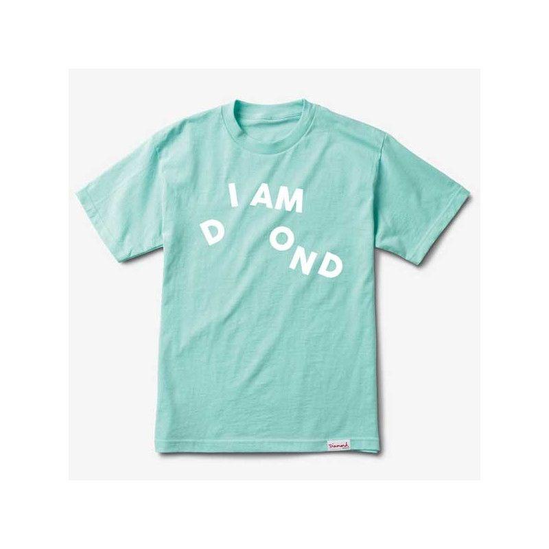 Camiseta Diamond: I AM TEE SP19 (DIAMOND BLUE)