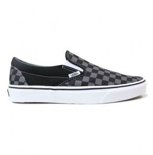 Zapatillas Vans: UA Classic SlipOn (Black Pewter Check) Vans - 1