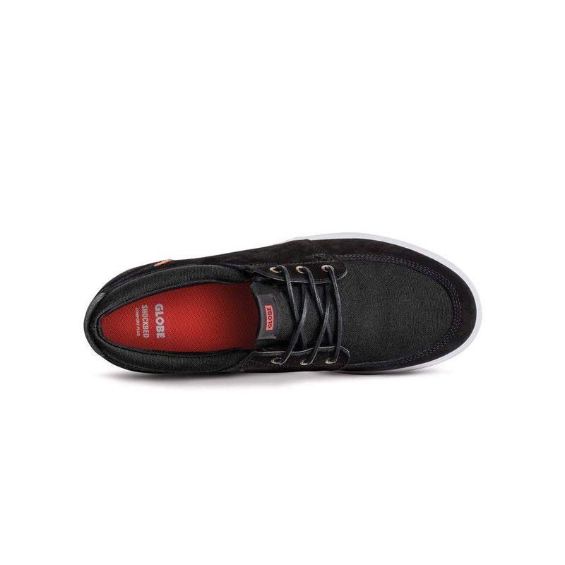 Zapatillas Globe: Attic (Black White)