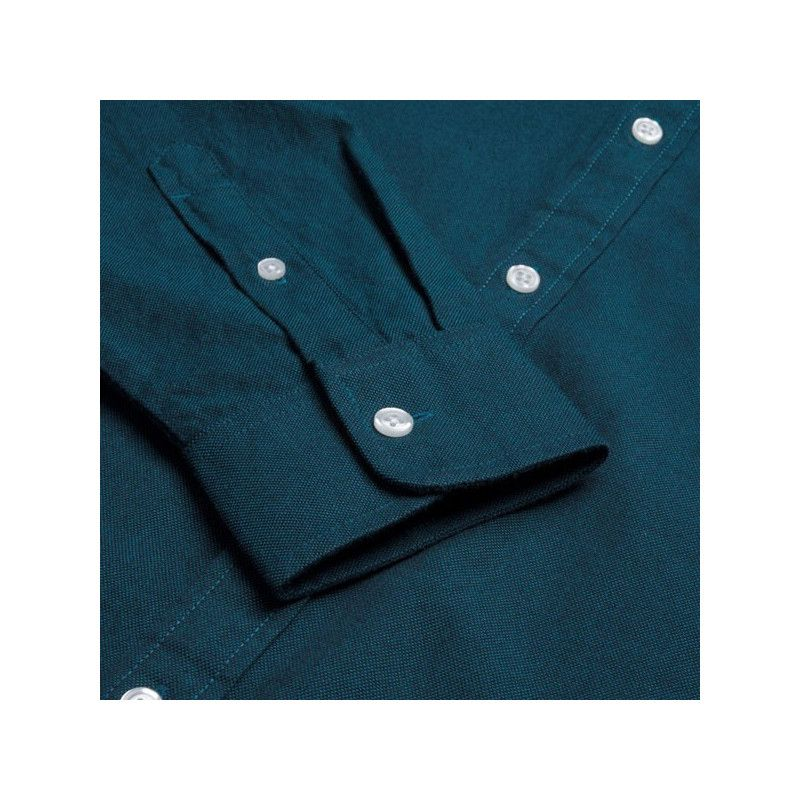 Camisa Carhartt: LS Dalton Shirt (Dark Navy Pizol)