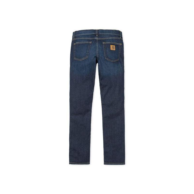 Pantalón Carhartt: Rebel Pant (Blue Deep Coast Washed)