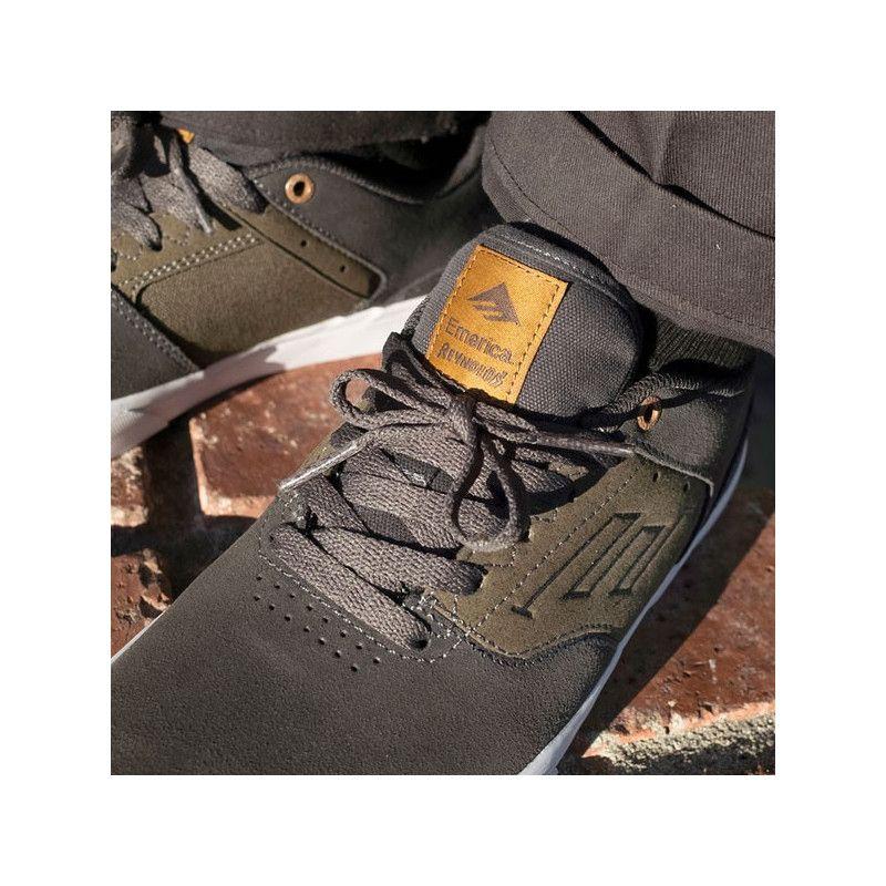 Zapatillas Emerica: THE REYNOLDS LOW VULC (GREY GREEN)