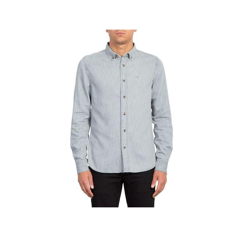 Camisa Volcom: BAYOND LS (GREY)