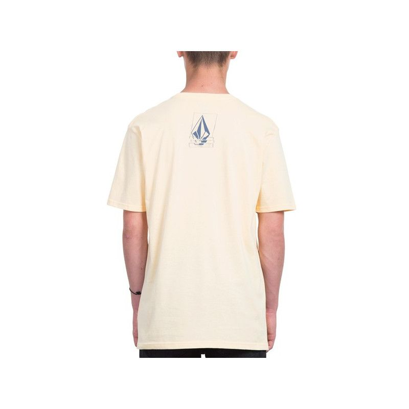 Camiseta Volcom: CHOPPED EDGE BSC SS (LIGHT PEACH)