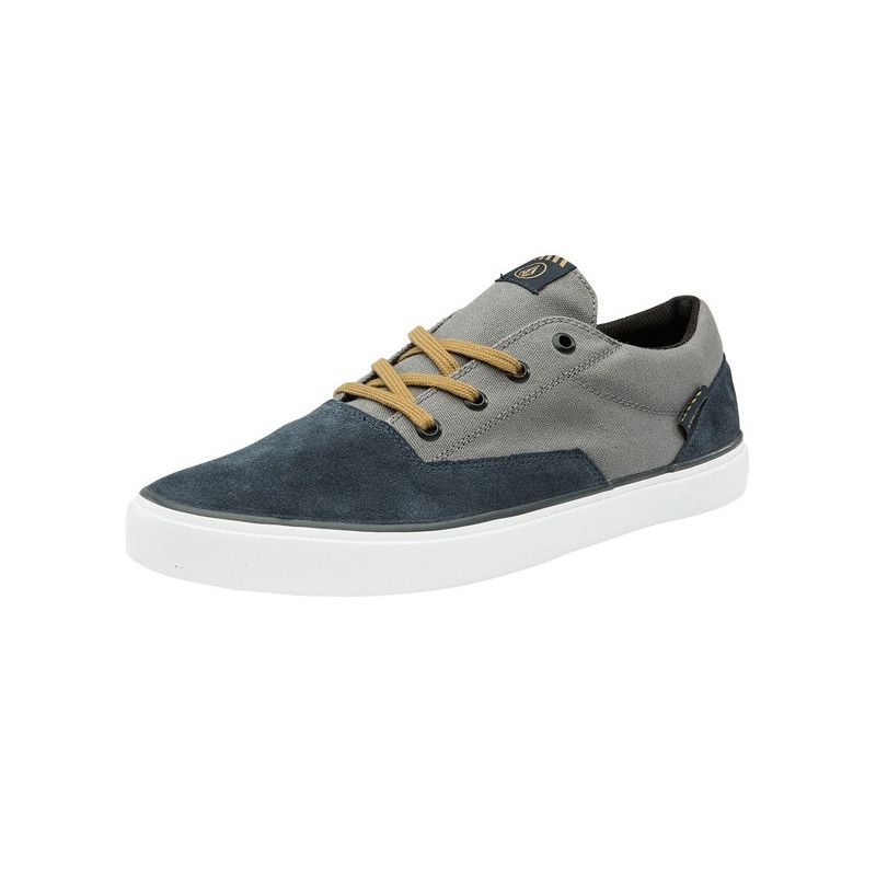 Zapatillas Volcom: DRAW LO SUEDE SHOE (NAVY HEATHER)