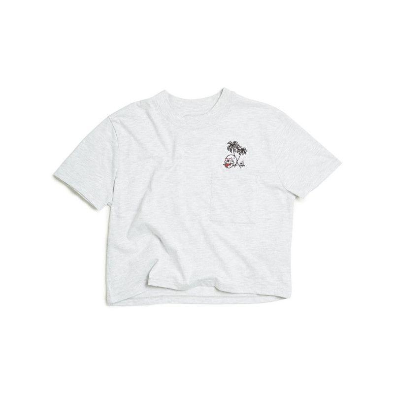 Camiseta Volcom: STONE GROWN TEE (LIGHT GREY)
