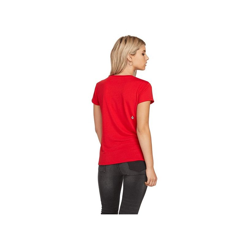 Camiseta Volcom: EASY BABE RAD 2 TEE (RED)