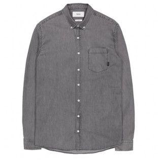 Camisa Makia: ARCHIPELAGO SHIRT (WASHED GREY)