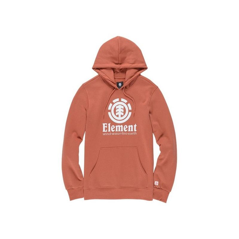 Sudadera Element: VERTICAL HO (ETRUSCAN RED)