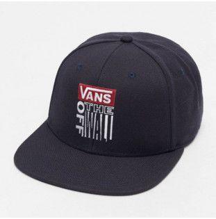 Gorra Vans: MN VANS BLOCK SNAPBACK (DRESS BLUES)