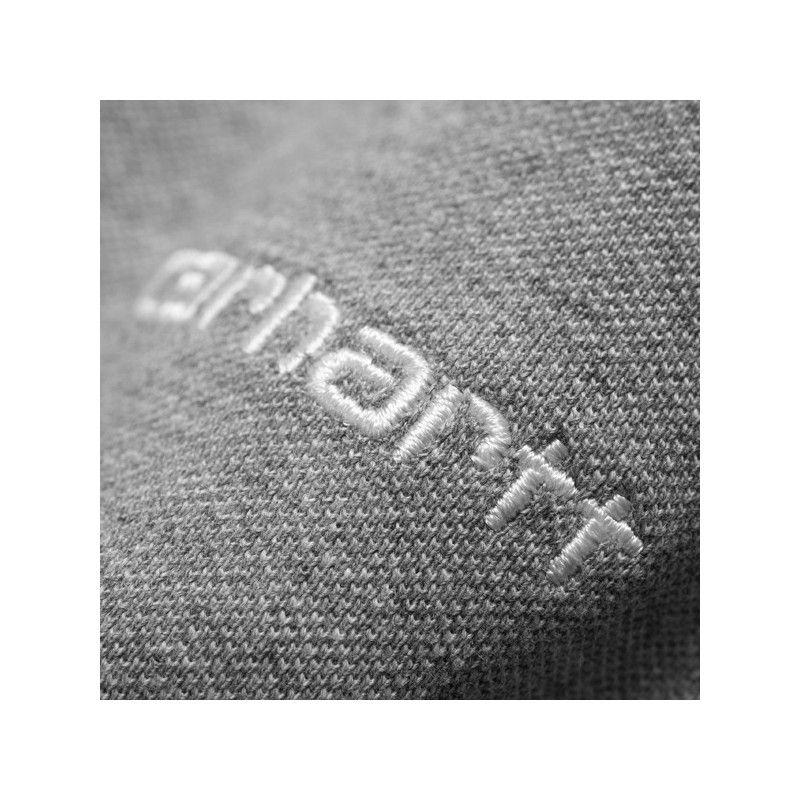 Polo Carhartt: SS Script Embroidery Polo (Gy Hea Wt Card)