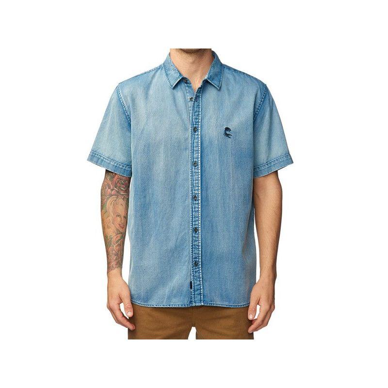 Camisa Globe: Scorpio SS Shirt (BRUISE BLUE)
