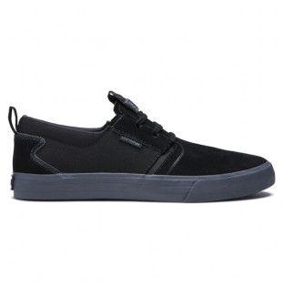 Zapatillas Supra: FLOW (BLACK DK GREY)