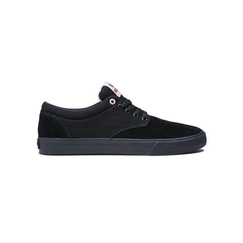 Zapatillas Supra: CHINO (BLACK MAUVE BLACK)