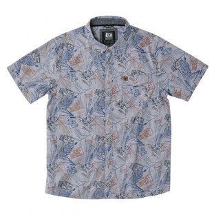 Camisa Hippytree: Safari Woven (Grey)