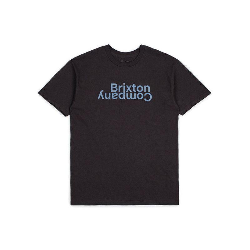 Camiseta Brixton: REVERT II SS STT (WASHED BLACK)