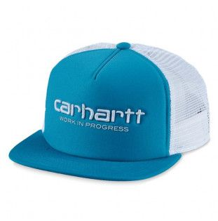 Gorra Carhartt: Carhartt WIP Trucker Cap (Pizol Wht Wht)