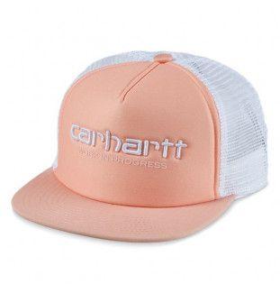 Gorra Carhartt: Carhartt WIP Trucker Cap (Peach Wht Wht)