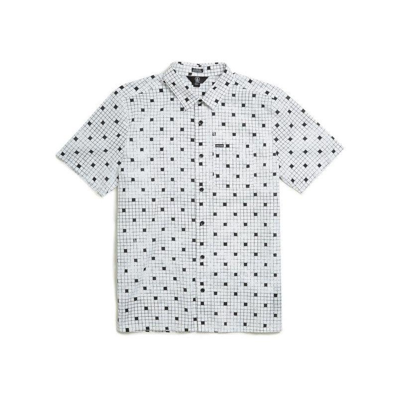 Camisa Volcom: CROSSED UP SS (WHITE)