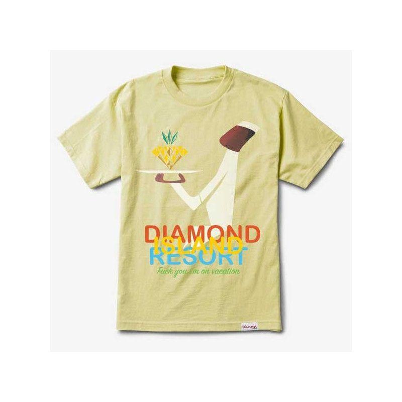 Camiseta Diamond: DIAMOND RESORT TEE (BANANA)